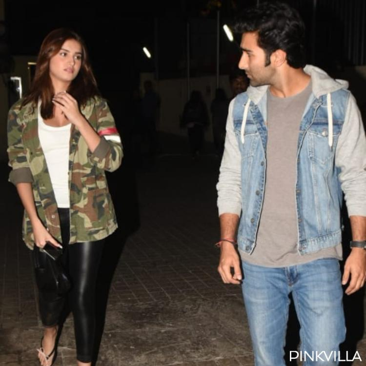 Tara Sutaria and Aadar Jain indulge in some serious conversation as they step out in the city; See Pics