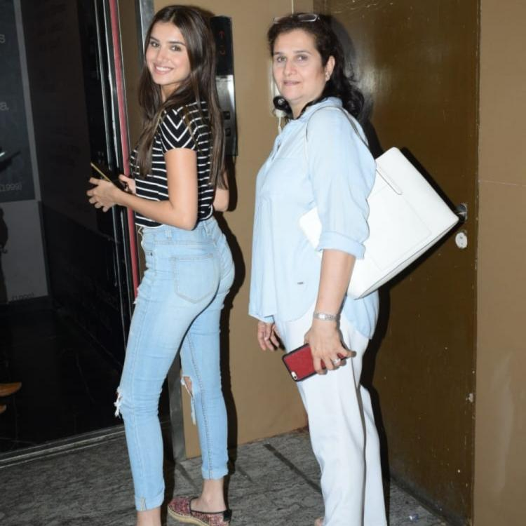 PHOTOS: Tara Sutaria enjoys a movie night out with mother Tina Sutaria in the city