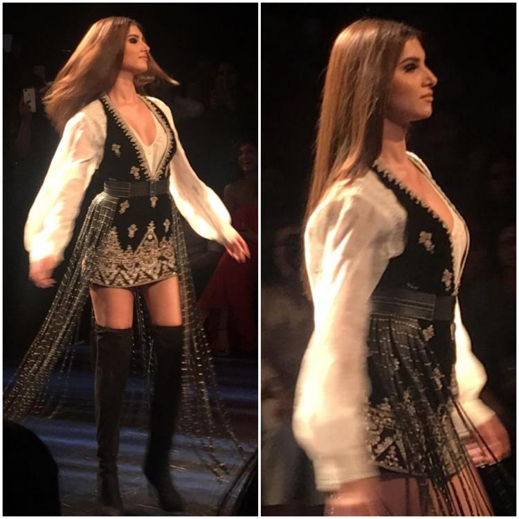 Tara Sutaria grabs attention as she turns showstopper for Ritu Kumar at LFW 2019