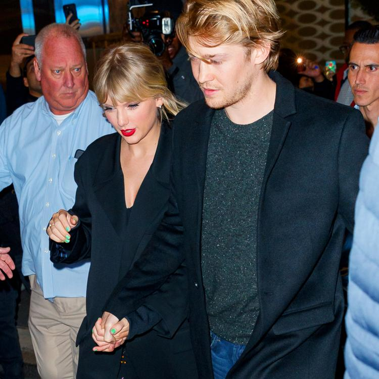 Taylor Swift sports a suspicious ring as she clinches Joe Alwyn's hand at the SNL after party; Is she engaged?