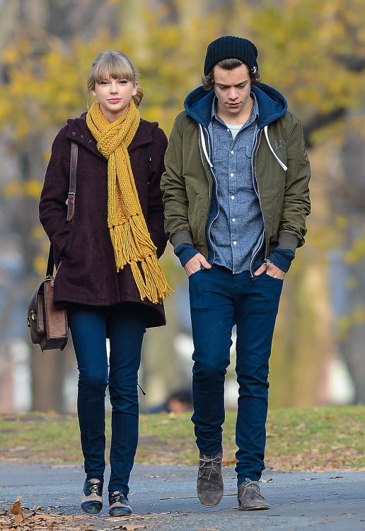 Harry Styles and Taylor Swift dated from December 2012 to January 2013.