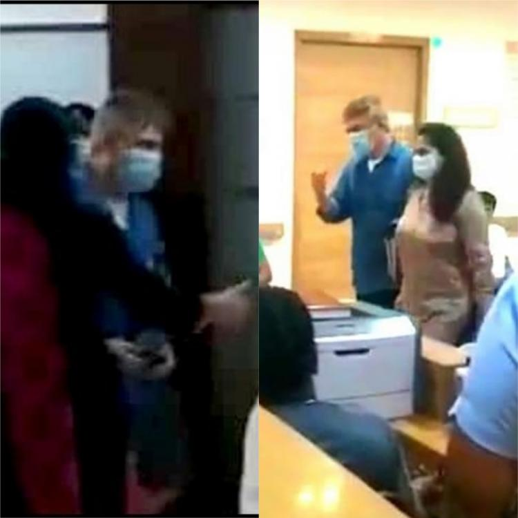 WATCH: Thala Ajith and Shalini spotted in hospital with facemask amid ongoing pandemic