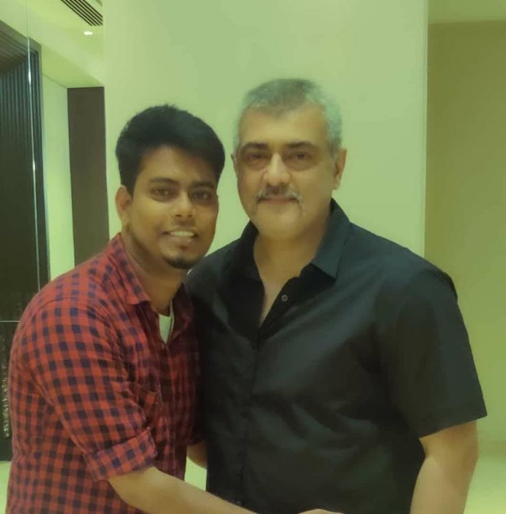 Thala Ajith's new look for Valimai LEAKED; Check it out