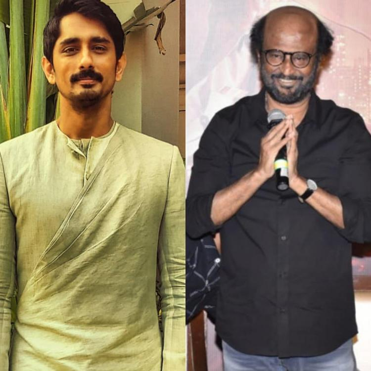Thalaivar 168: Rajinikanth starrer to see Siddharth in a pivotal role?