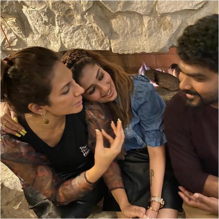 PHOTOS: Nayanthara and Vignesh Shivan celebrate Thanksgiving Day with friends in the US; Check it out