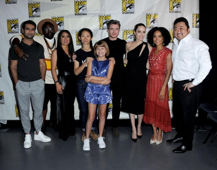 Directed by Chloé Zhao, The Eternals is slated to release on November 6, 2020.