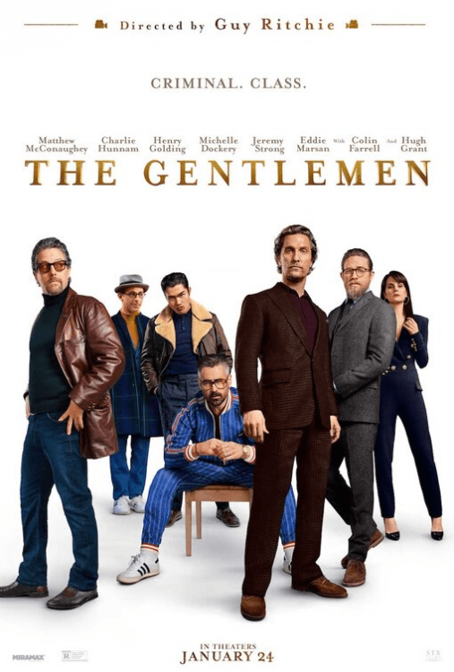 McConaughey's 'The Gentlemen' to release in India on January 24