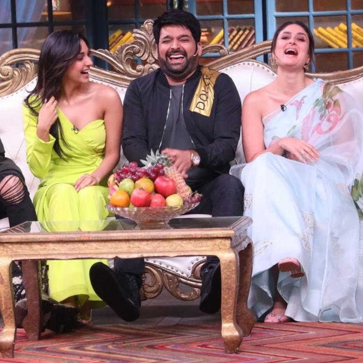 The Kapil Sharma Show completes 100 episodes; Check out BTS pics as they celebrate with the cast of Good Newwz
