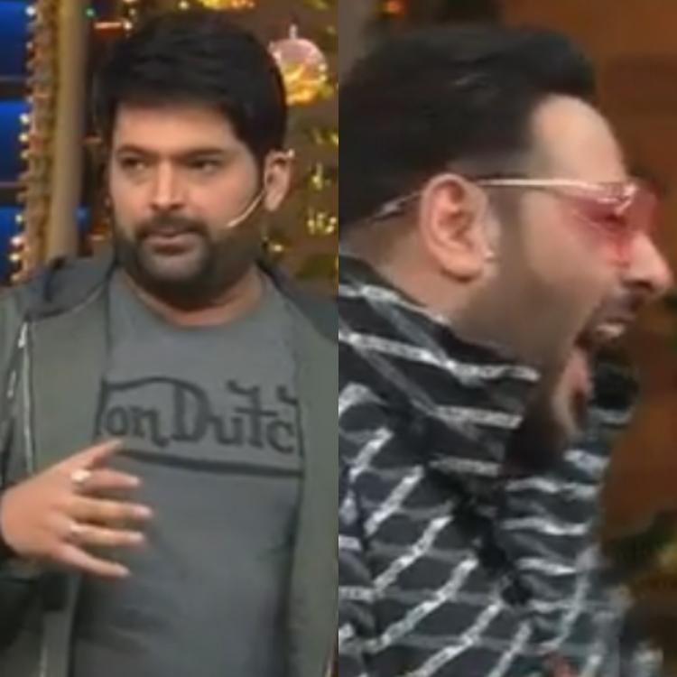 The Kapil Sharma Show: Kapil Sharma takes a dig at Badshah's weight; Latter's reaction is unmissable; WATCH