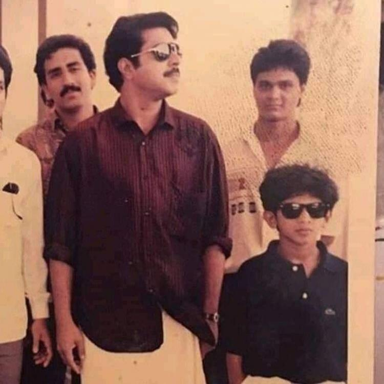 THROWBACK: Mammootty cancelled shooting in London to be with his wife Sulfath when Dulquer Salmaan was born