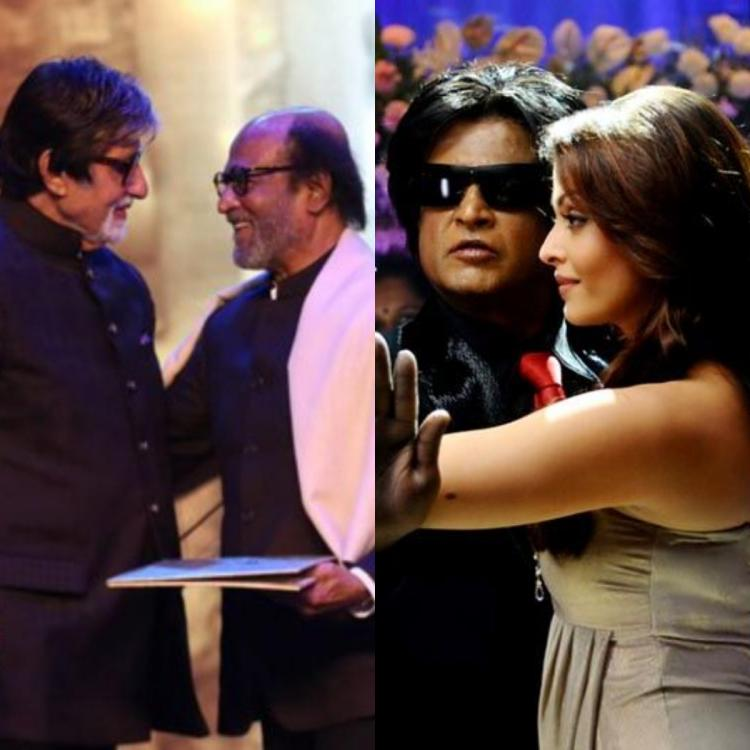 Throwback: When Rajinikanth was terrified of Amitabh Bachchan for doing romantic scenes with Aishwarya Rai