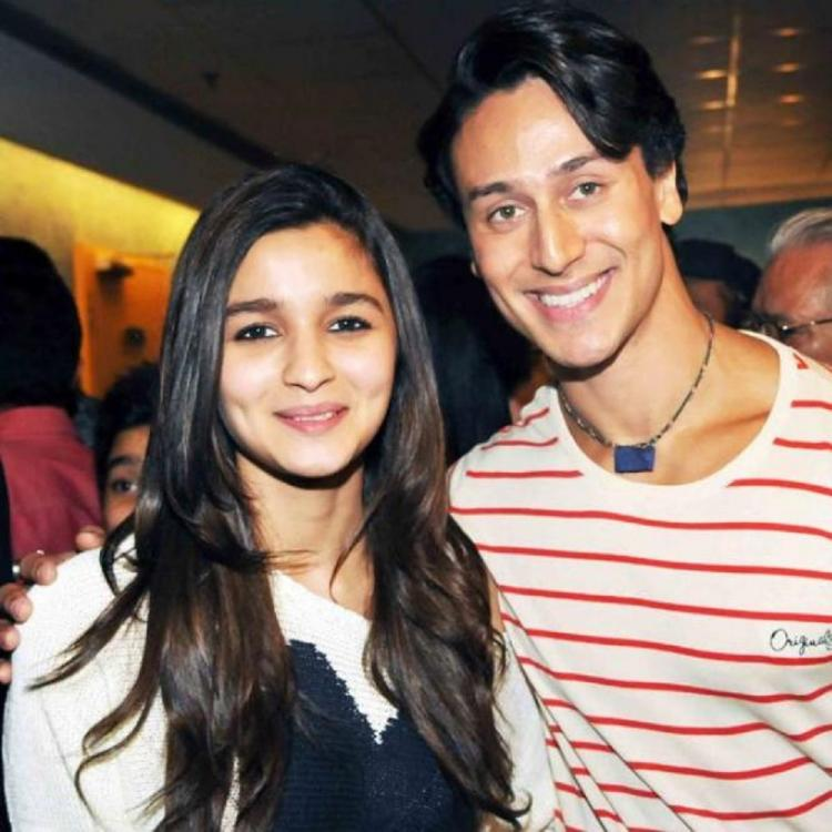 Alia Bhatt & Tiger Shroff all set to show off their chemistry in a special song for Student Of The Year 2
