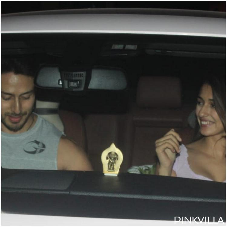 Photos: Tiger Shroff and Disha Patani can't stop gushing post their Friday night dinner together