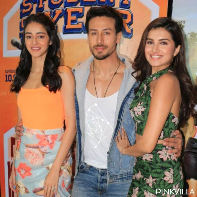SOTY 2's Ananya Panday & Tara Sutaria opt for floral prints while Tiger Shroff keeps it casual for promotions