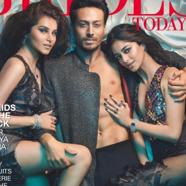 SOTY 2 trio Tiger Shroff, Ananya Panday & Tara Sutaria showoff their HOT chemistry on the cover of a magazine