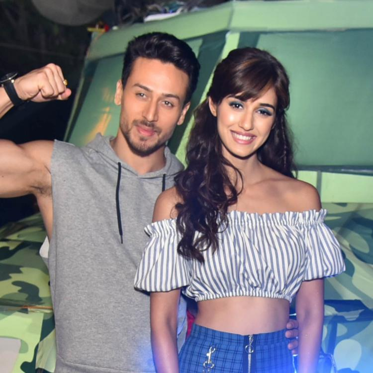 Tiger Shroff wishes rumoured girlfriend Disha Patani on Instagram; shares a BTS dance rehearsal video of them