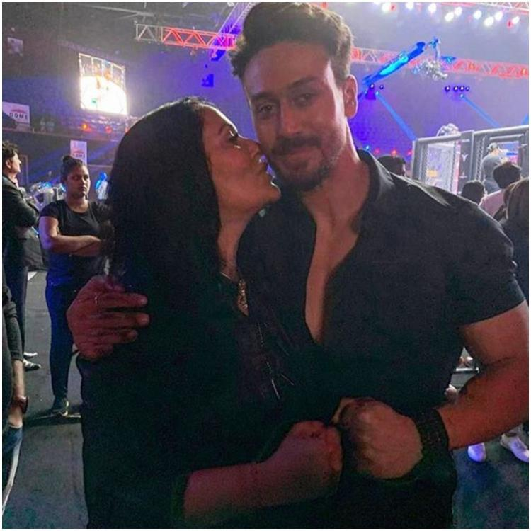 Tiger Shroff's endearing pic with mom Ayesha Shroff is winning the internet; Disha Patani is all hearts for it