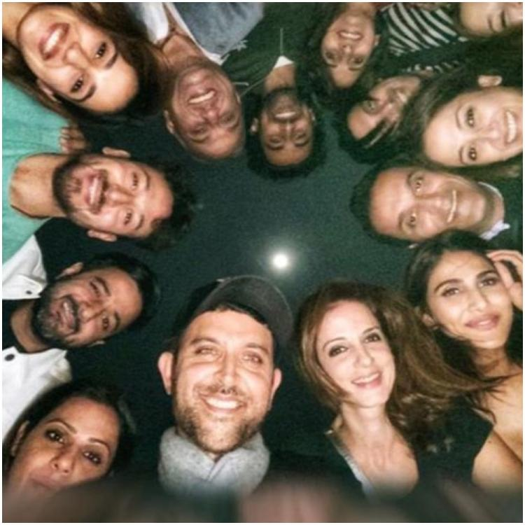 Tiger Shroff shares pic with 'superhero' Hrithik Roshan, Disha Patani, Sussanne from War star's birthday bash