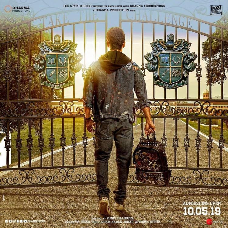 Tiger Shroff's Student of The Year 2's poster opens gates for a new journey; trailer to be out on THIS date