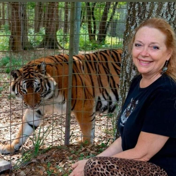 Tiger King's star Carole Baskin begins selling masks to raise money for her sanctuary during COVID 19 outbreak