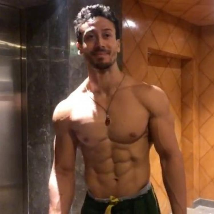 Tiger Shroff flaunts his washboard abs and hopes to walk out of quarantine soon; Watch throwback video