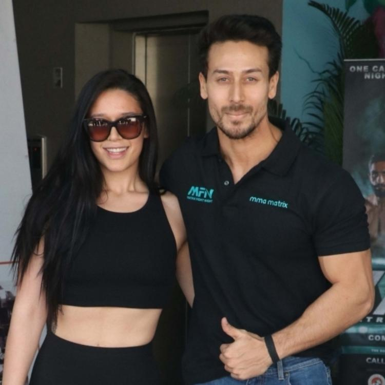 PHOTO: Tiger Shroff teases his sister Krishna Shroff in his latest post; Check it out