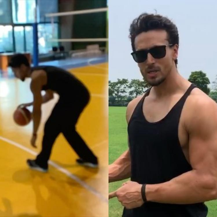 Tiger Shroff shows off his killer basketball moves on his day off from Baaghi 3 shoot; WATCH