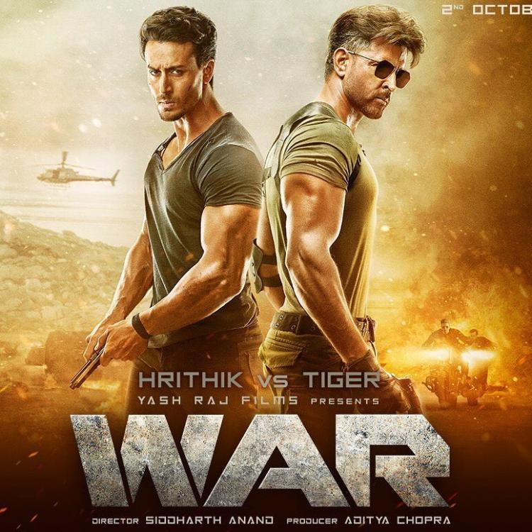 War Box Office: Hrithik Roshan and Tiger Shroff starrer starts off with a massive advance booking collection