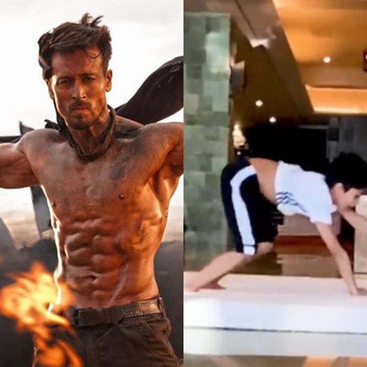 Tiger Shroff REVEALS he will need training from Shilpa Shetty's son as his 'bro' nails backflip in THIS video