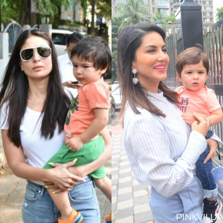 Kareena Kapoor Khan's lil nawab Taimur Ali Khan gets compared with Sunny Leone's son post her latest outing