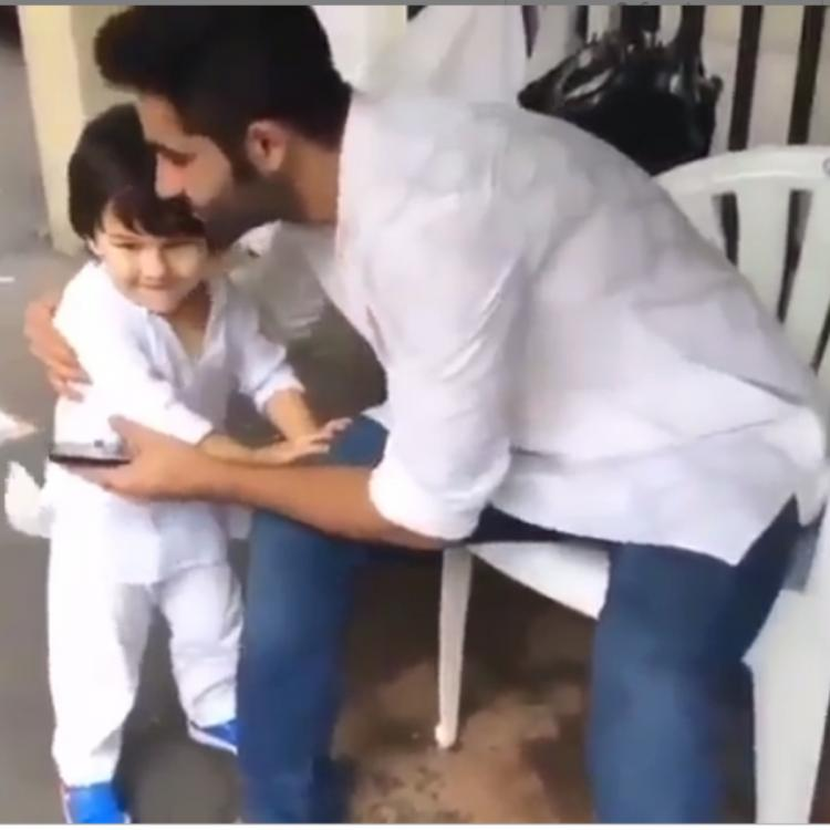 Taimur Ali Khan running to hug his uncle Armaan Jain is the cutest thing you'll see today; WATCH