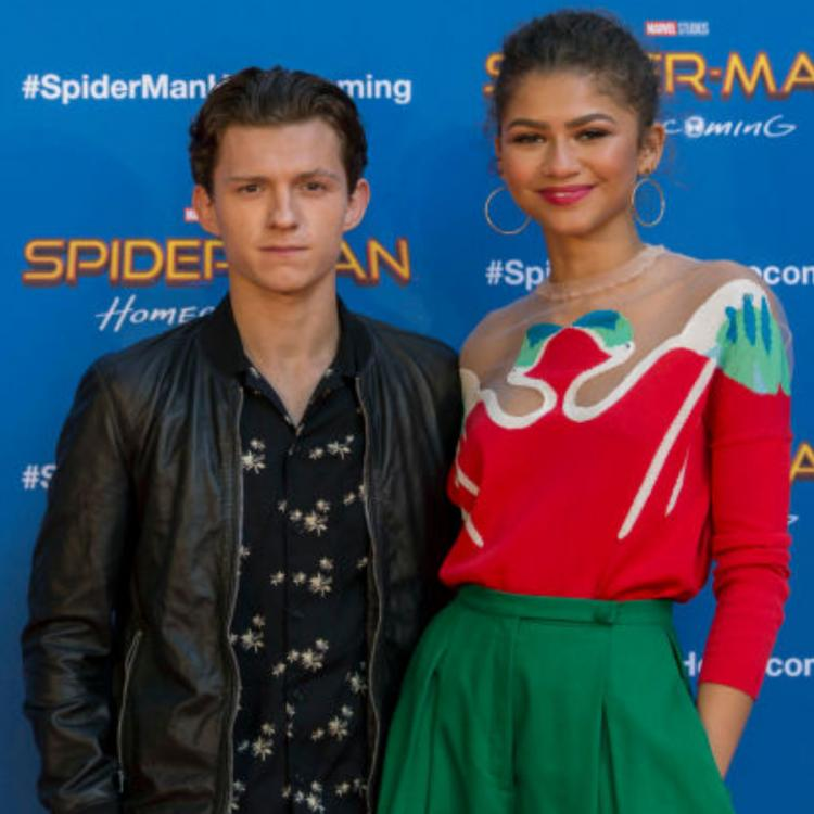 Tom Holland Is Dating Spider Man Far From Home Co Star Zendaya