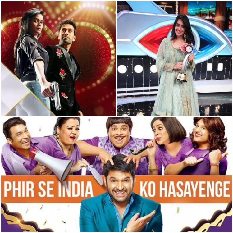 Online TRP Report: Bigg Boss 12 and The Kapil Sharma Show win audience's love; Ishqbaaaz scrapes through