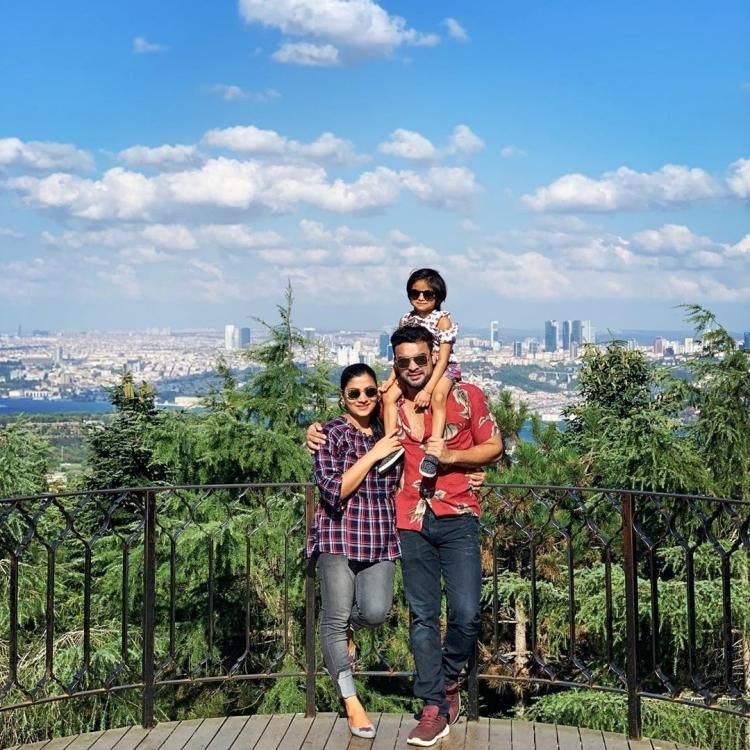 Tovino Thomas' adorable pics with his wife & daughter from their Turkey vacay are setting major family goals