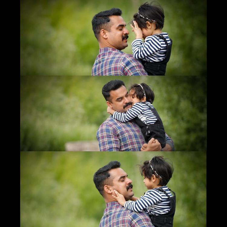 Tovino Thomas shares an adorable picture of his precious girl and its priceless