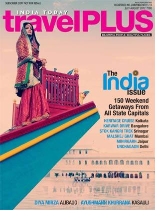 Dia Mirza On The Cover Of India Today Travel Plus July