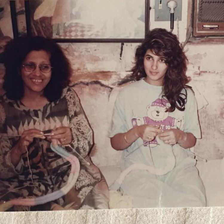Twinkle Khanna shares a throwback PHOTO with Grandmom Betty Kapadia and it is all things heart