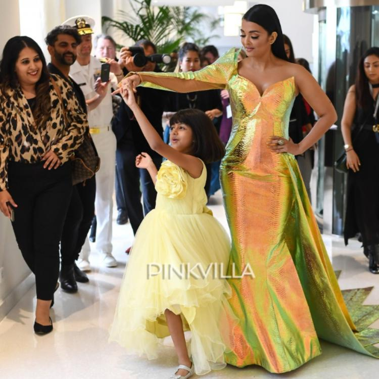 Cannes 2019: Aishwarya Rai Bachchan makes a dramatic entry as daughter Aaradhya twirls around her