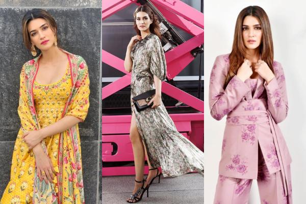 Kriti Sanon nails the floral look; HERE are 6 outfits we would love to try from her wardrobe
