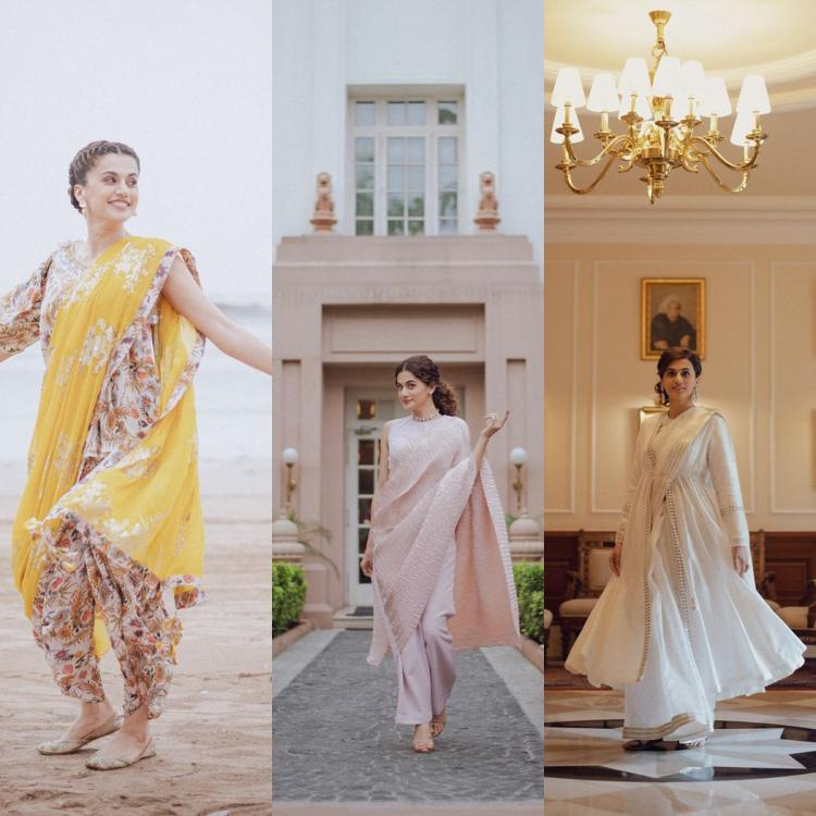 Love wearing sarees? Here's Taapsee Pannu giving us major saree goals