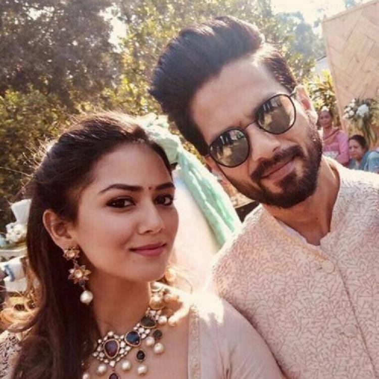 Valentine's Day: Shahid Kapoor and Mira Rajput's celebration of day of love is one flowery affair; See Pics