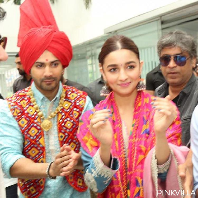 Varun Dhawan and Alia Bhatt enthral the college students in Jalandhar as they promote Kalank in Punjabi style