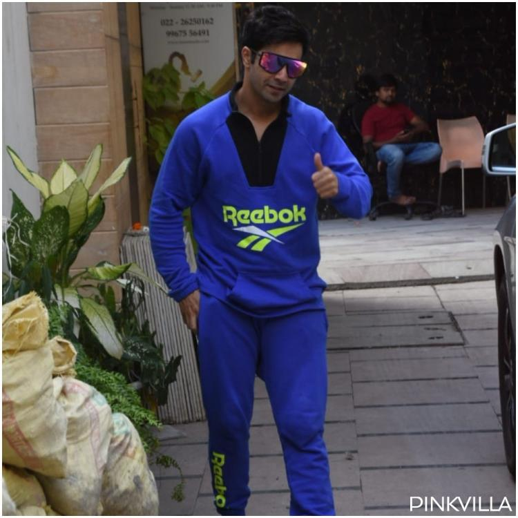 PHOTOS: Varun Dhawan's swag is on point as he goes out and about in the city