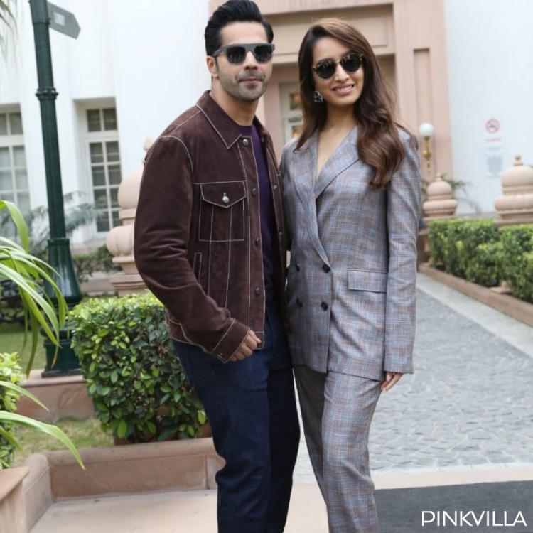 Varun Dhawan and Shraddha Kapoor are a sight to behold in New Delhi for Street Dancer 3D promotion; See PHOTOS