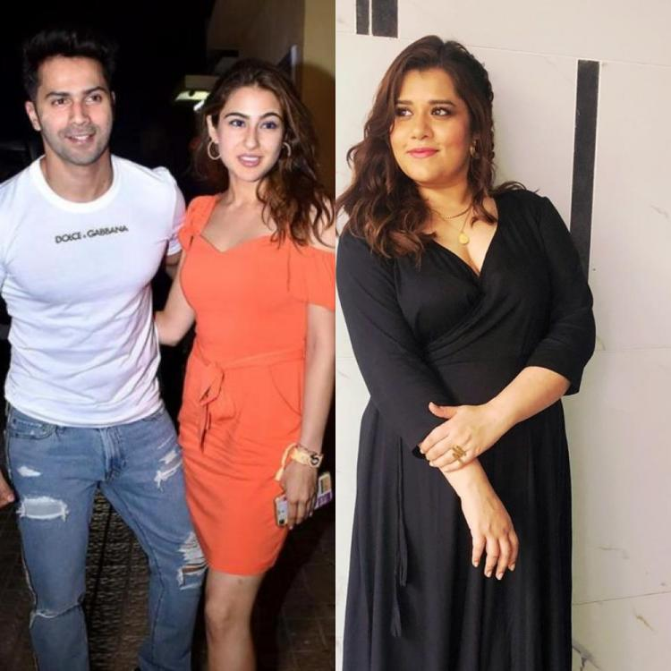 Varun Dhawan, Sara Ali Khan are so energetic: Coolie No 1 actor Shikha Talsania opens up on working with them