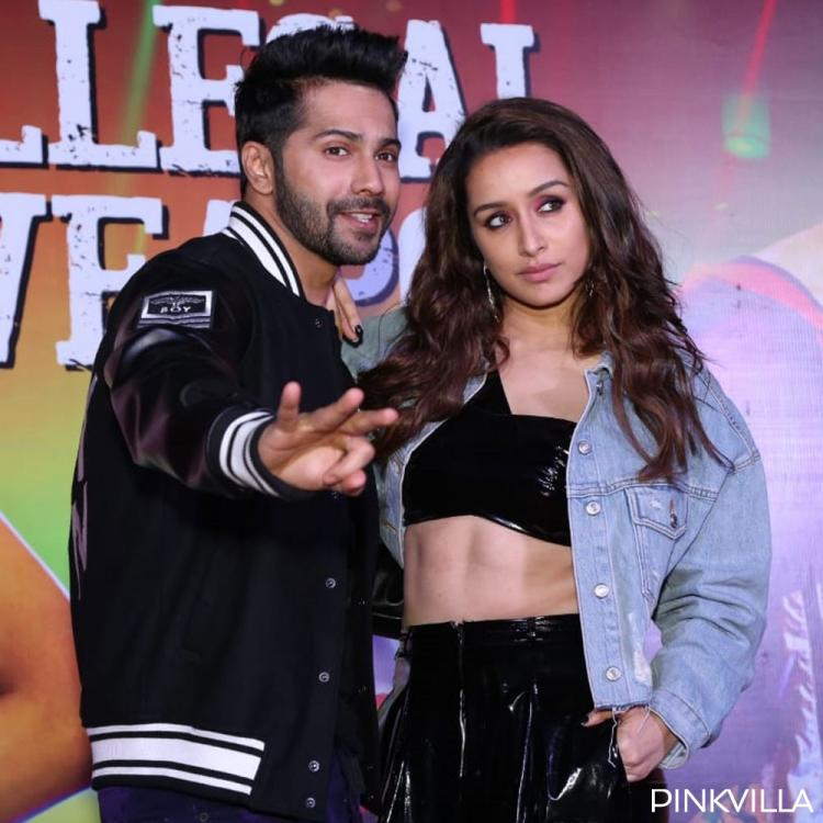 PHOTOS: Street Dancer 3D stars Varun Dhawan, Shraddha Kapoor look glamorous during Illegal Weapon 2.0 launch