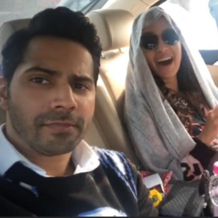 Varun Dhawan and Shraddha Kapoor have a gala time as they promote Street Dancer 3D; Watch