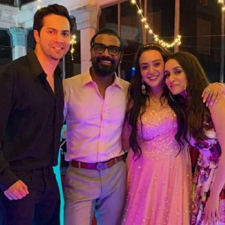 Varun Dhawan shares a picture with Shraddha Kapoor to wish Remo D'Souza's wife Lizelle on her birthday