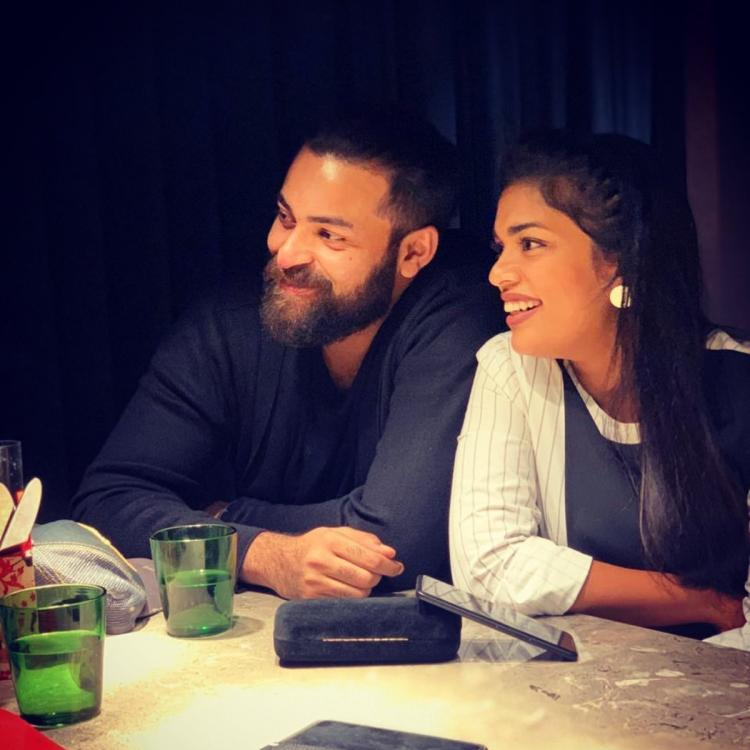 Varun Tej shares a sweet picture with Chiranjeevi's daughter Sreeja Kalyan; View Pic