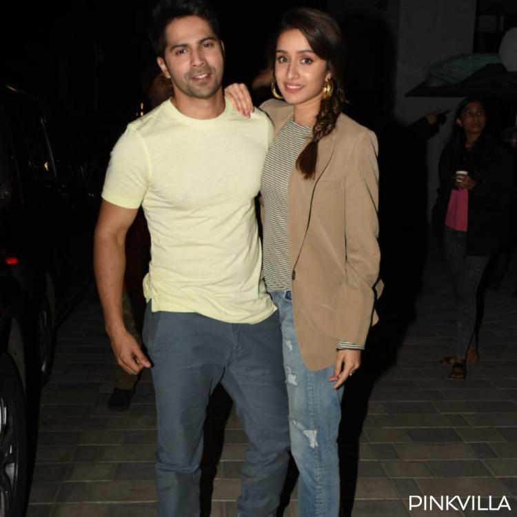 PHOTOS: Varun Dhawan & Shraddha Kapoor look super classy as they step out for Street Dancer 3D promotions